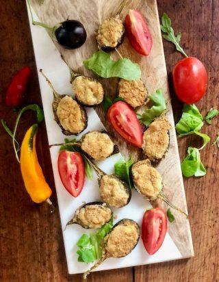 Melanzanine ripiene - ricetta vegetariana