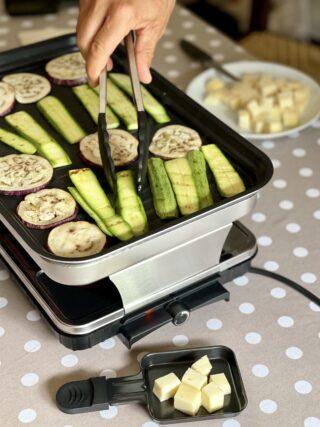 Verdure raclette