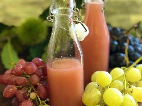 Succo d'uva fatto in casa