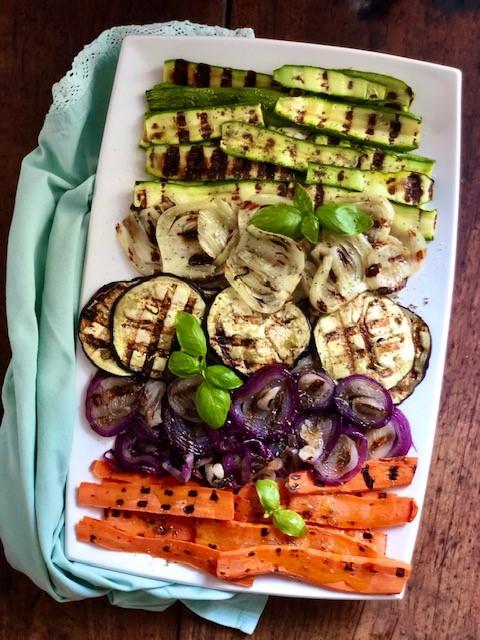 Contorno di verdure grigliate