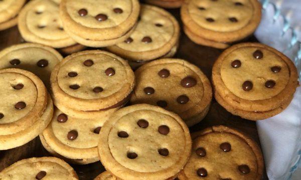 Brianocchi: biscotti alla crema di nocciola e cacao