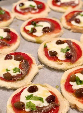 pizzette di pancarré