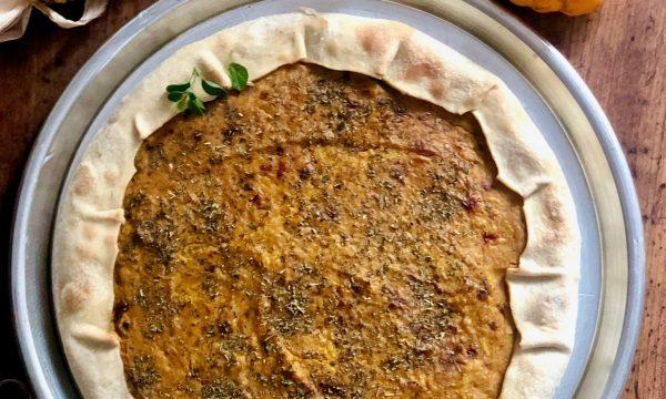Farinata o torta di zucca genovese