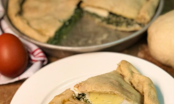 Torta salata di spinaci e ricotta (facile)