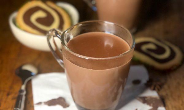 Cioccolata calda all'anice stellato