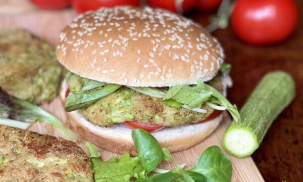 Burger di zucchine e patate