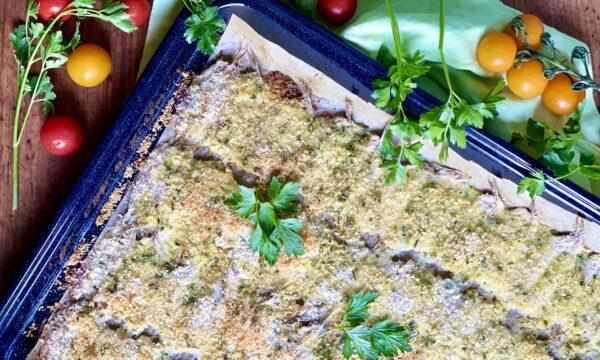 Acciughe al forno gratinate