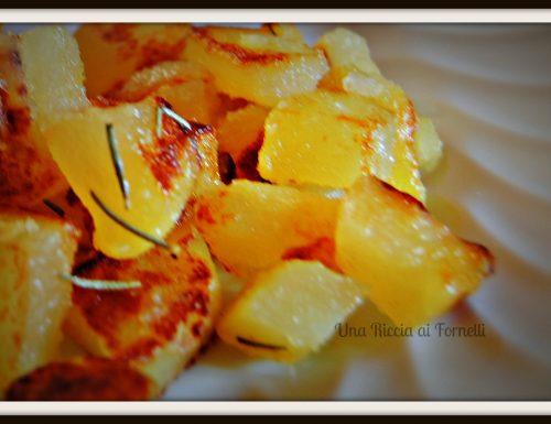 Patate al rosmarino saltate in padella, ricetta vegetariana