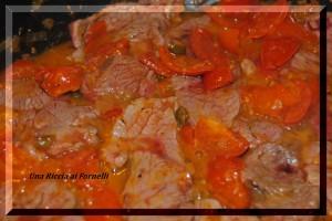 Fettine alla pizzaiola con pomodorini freschi