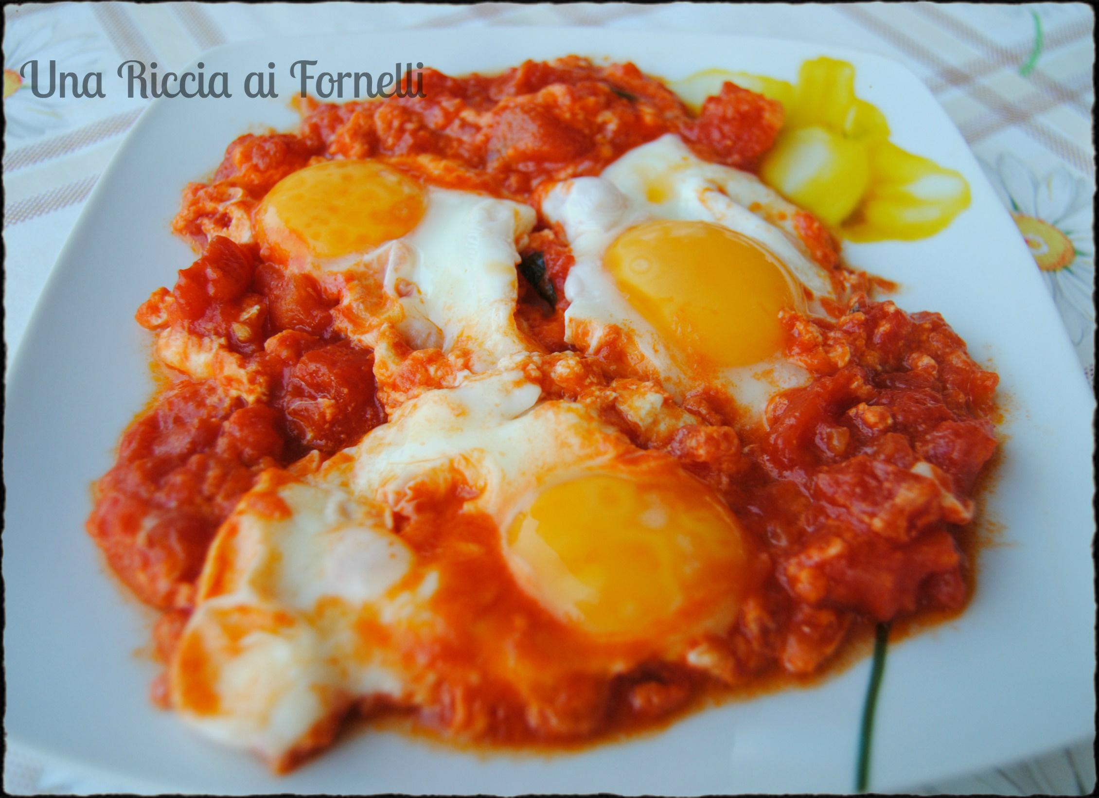 Ricetta Uova Con Pomodoro.Uova Al Pomodoro Ricetta Classica Una Riccia Ai Fornelli
