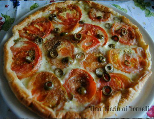 Torta rustica mediterranea, ricetta microonde
