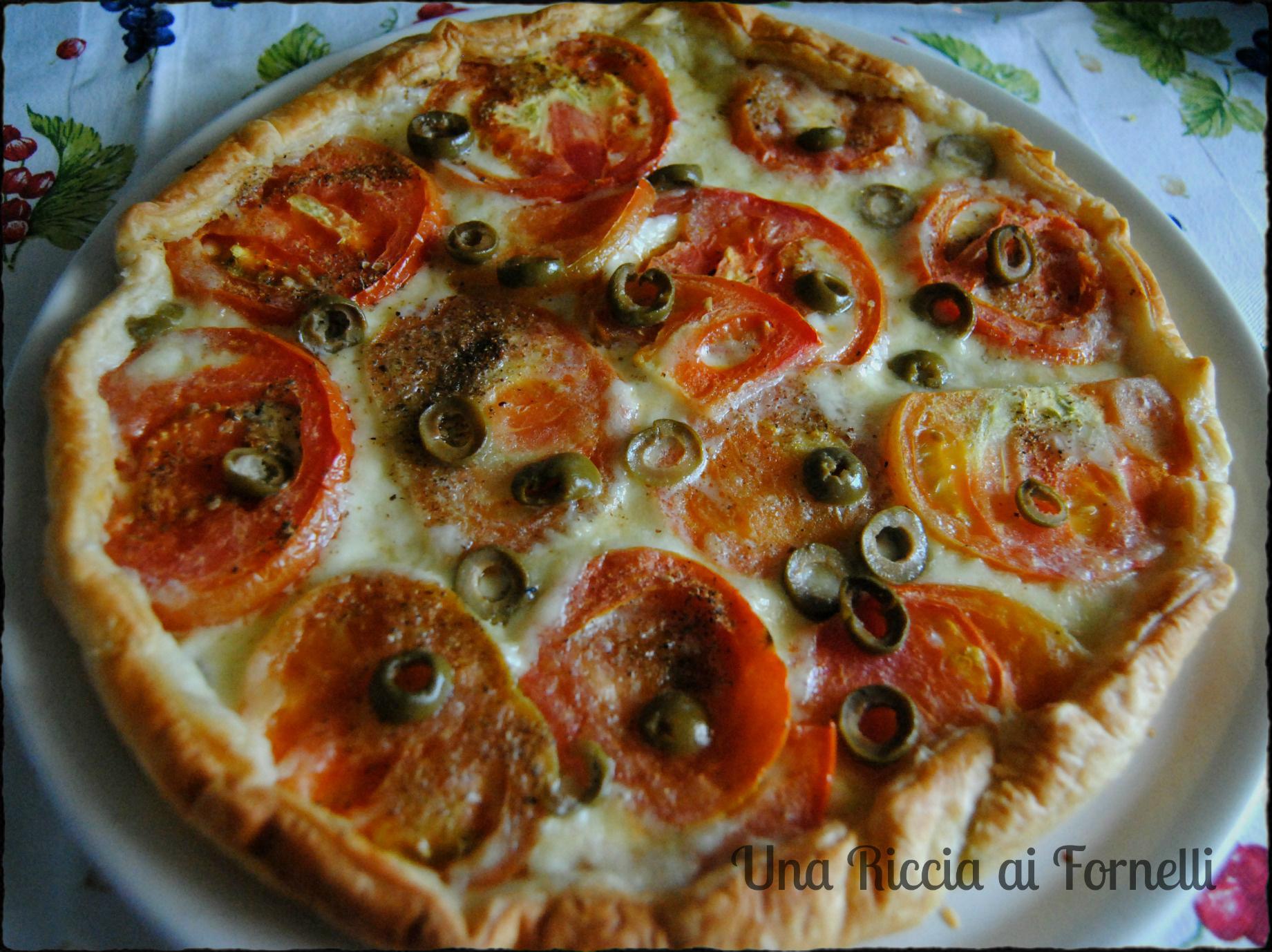 Torta rustica mediterranea ricetta microonde una riccia for Microonde ricette
