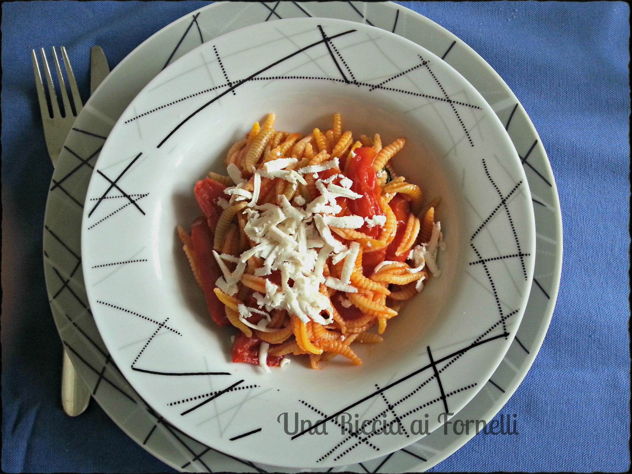 Ricetta Gnocchi Con Ricotta Salata.Gnocchetti Sardi Alla Ricotta Salata Ricetta Primo Veloce