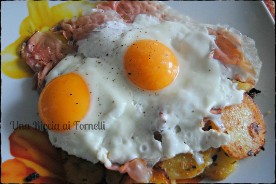 Uova patate e speck, ricetta Alto Adige