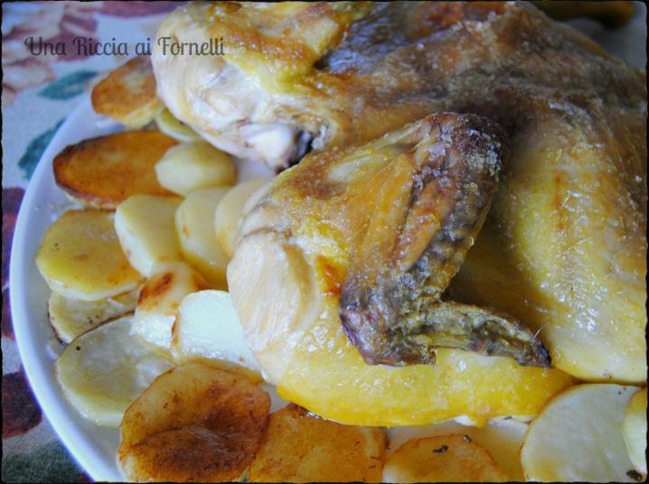 Pollo arrosto al microonde una riccia ai fornelli - Forno microonde e tradizionale insieme ...