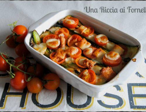 Zucchine al forno golose