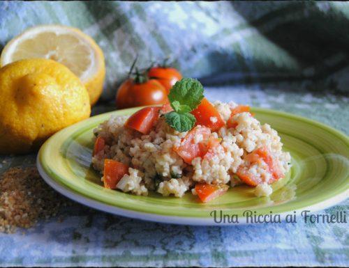 Tabulè alla libanese, ricetta estiva