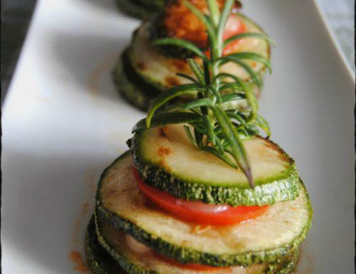 Torrette di zucchine in padella