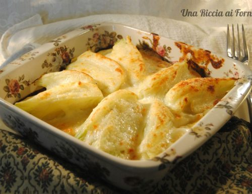 Finocchi gratinati con patate