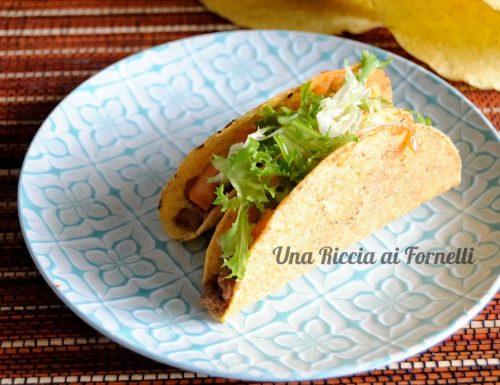 Ricetta tacos di manzo
