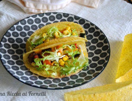 Tacos vegetariani