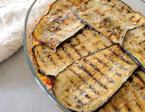 Pasta con le melanzane al forno