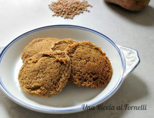 Polpette di lenticchie senza uova