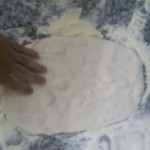 stendere la pizza ripiena