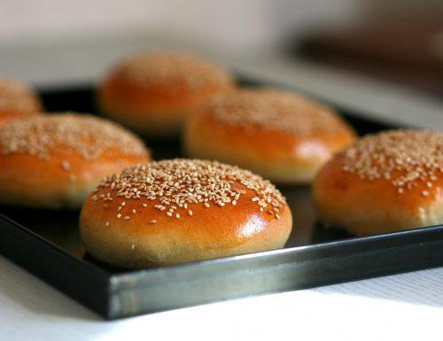 Panini per hamburger con farina di tipo 2