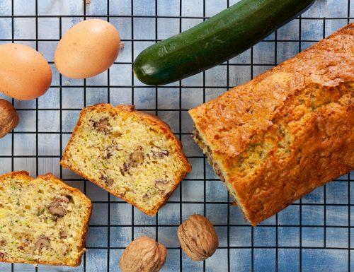 Zucchini bread alle noci e cannella