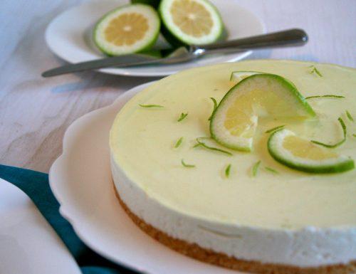 Cheesecake al limone senza coloranti