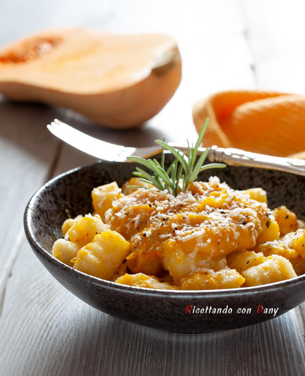 Gnocchi di patate alla crema di zucca
