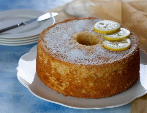 Chiffon cake limone e zenzero
