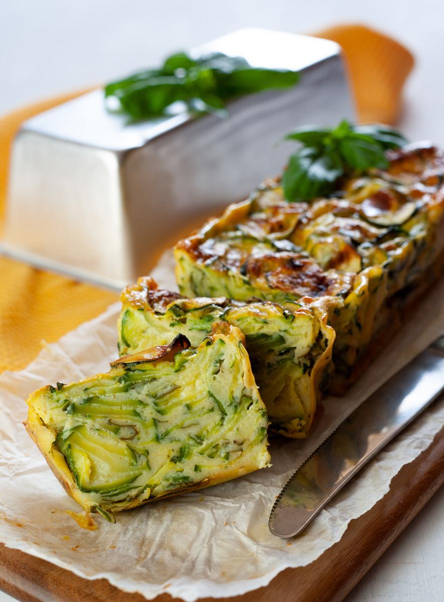 Torta salata invisibile alle zucchine