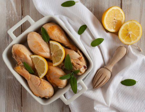 Fusi di pollo al limone e zenzero