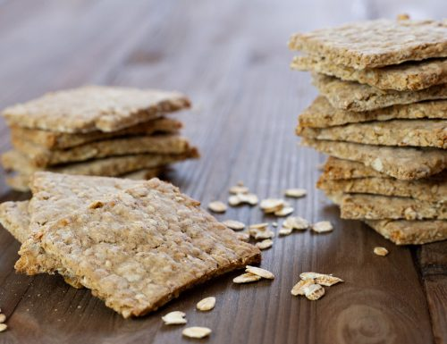 Crackers ai fiocchi di avena