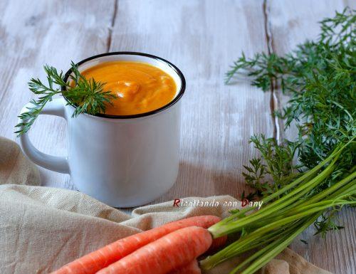 Vellutata di carote al latte di cocco