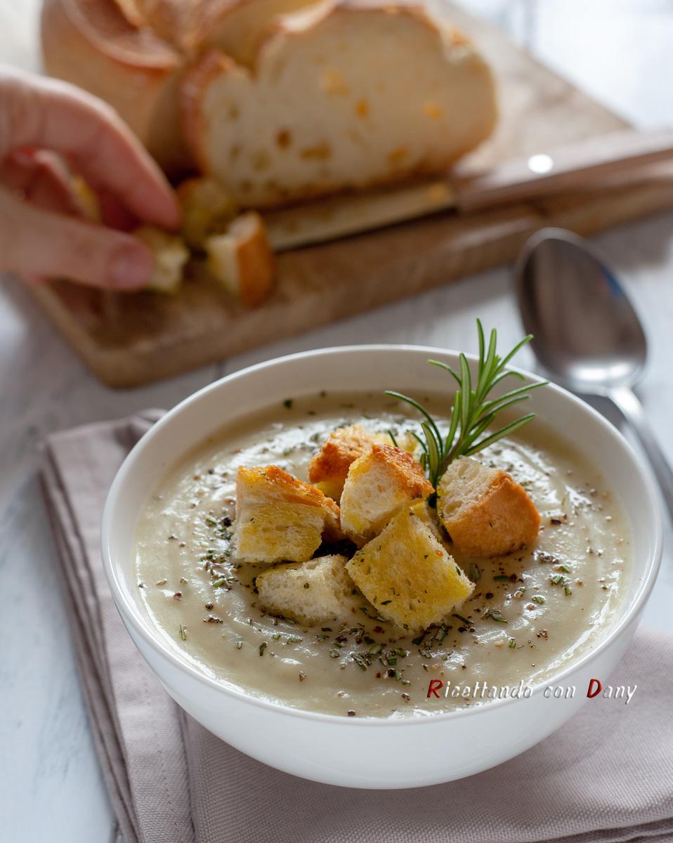 Crema di sedano rapa al gorgonzola