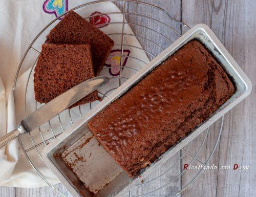 Plumcake con farina di castagne e cacao