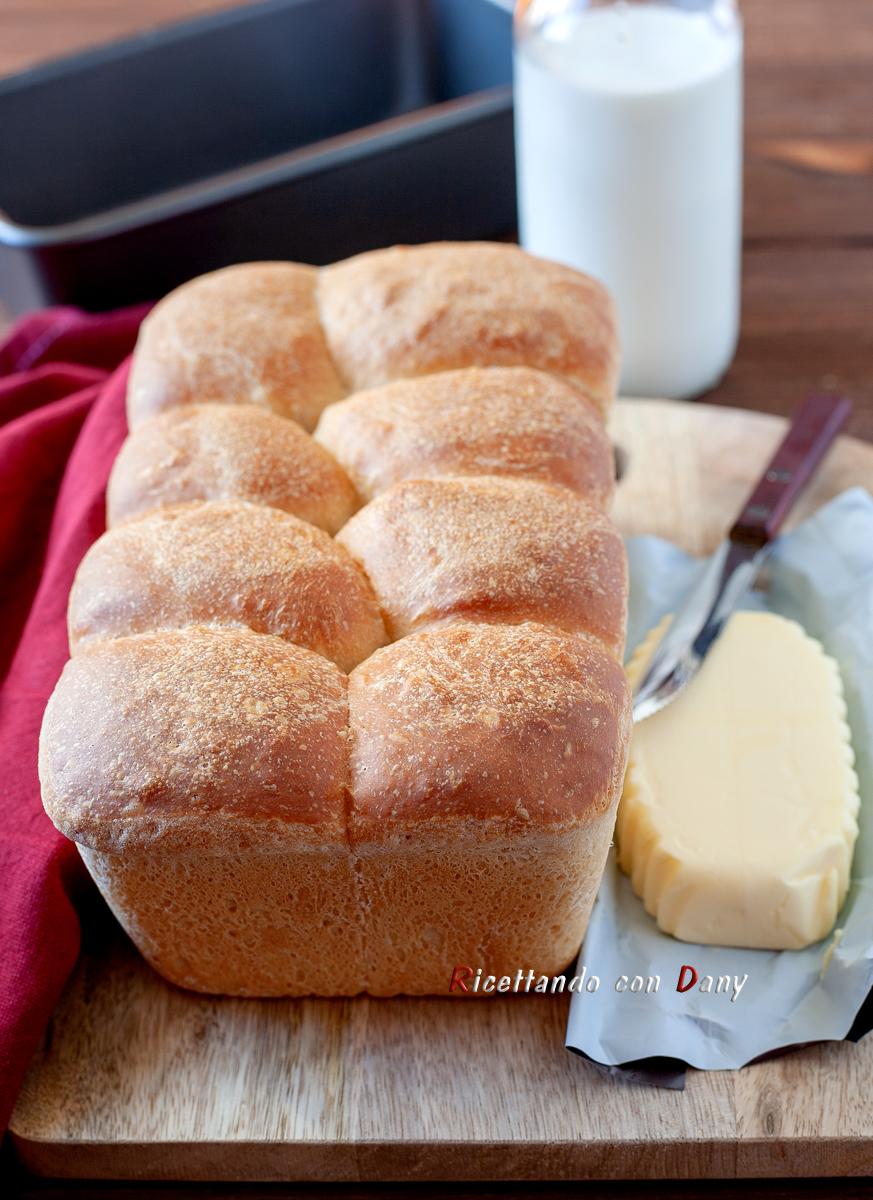 Pane morbido al latte
