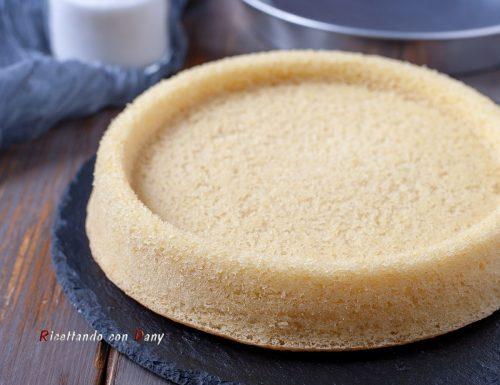 Base per crostata morbida all'olio
