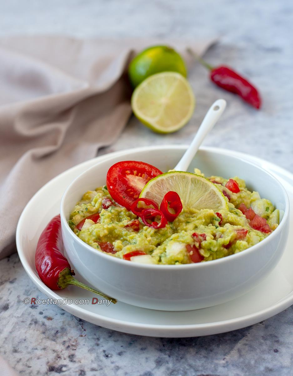 Salsa guacamole piccante