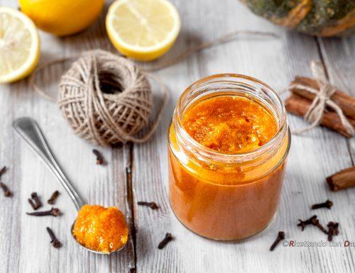 Confettura di zucca al limone e spezie