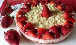 Cheesecake alle fragole – ricetta senza cottura