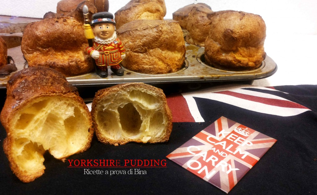 Yorkshire Pudding - ricetta inglese