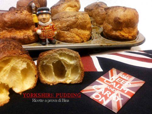 Yorkshire Pudding – ricetta inglese
