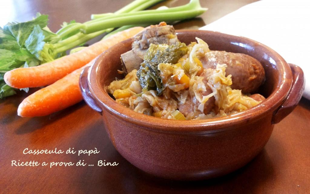 Cassoeula di papà - ricetta tipica milanese