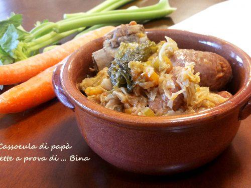 Cassoeula di papa' – ricetta invernale milanese