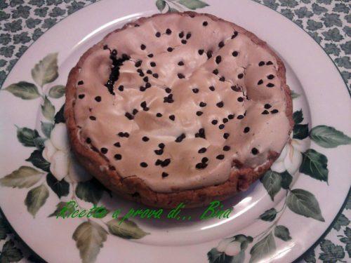 Crostata cioccolato e meringa