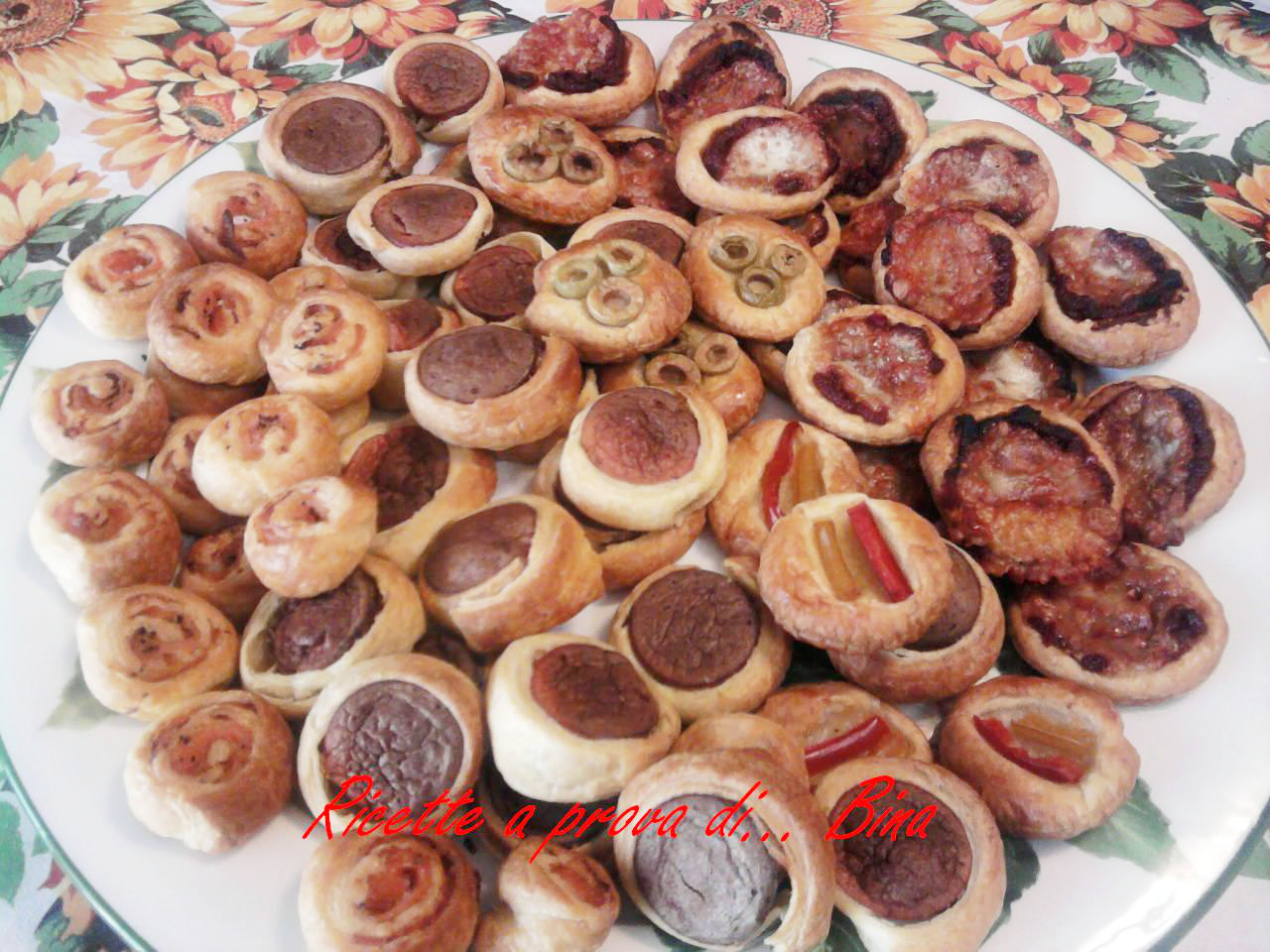 Preferenza Salatini per le feste | Ricette a prova di Bina! XW73